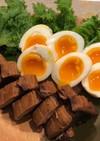 まぐろチャーシュー&トロトロ煮卵