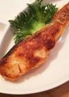 生鮭の超簡単!トースター たらこマヨ焼き