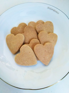 サクサク♪米粉のきなこクッキー