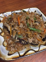 豚ひき肉と野菜のそぼろの写真