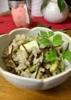バター塩昆布枝豆の炊き込みご飯