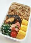 お弁当(5/14)筍の炊き込みご飯