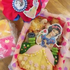プリンセス弁当♡白雪姫 ドレス弁当♡