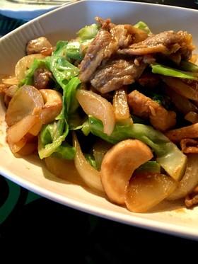 豚みそ 野菜炒め