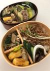 レンジで!小松菜と新タマと椎茸の煮びたし