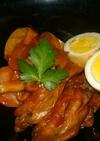 鶏手羽のケチャップ煮