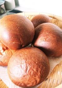 むっちり腹もち◎な低糖質丸パン