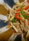筍と豚肉のオイスターソース炒め
