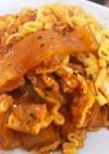 チーズ プルダック麺 ♡ タンミョン