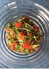 ブロッコリースプラウトでサラダ納豆