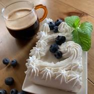 ブルーベリーヨーグルトdeチーズケーキ