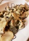 鶏胸肉バジルチーズ焼き