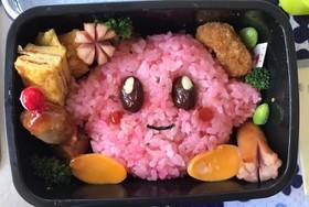 赤飯でカービィ☆