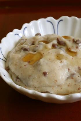 ゆで小豆アーモンドプードル入りわらび餅