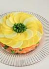 ひまわりのオムライスケーキ*父の日