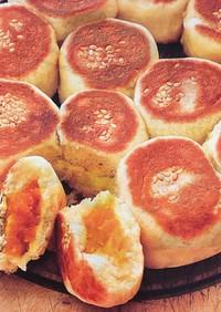フライパンでちぎりぱん かぼちゃとチーズ