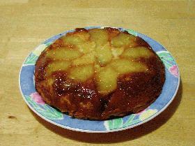 パイナップル*アップサイドダウン*ケーキ