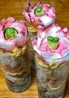 花束みたいなグラス寿司