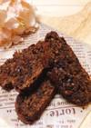 黒砂糖米粉のココナッツチョコビスコッティ