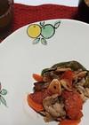 野菜と豚の味噌醤油炒め