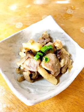 鶏肉とじゃがいものこっくり味噌煮