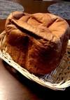 ふわふわほろ苦♡HBでココア食パン