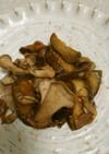 ★なすびとマイタケと豚肉の味噌炒め