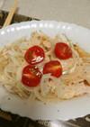 ★サラダチキンと新玉ねぎのマリネ風