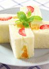 純生クリームのフルーツサンド