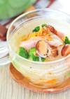 とら豆とベーコンの食べるスープ