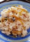 生姜の佃煮と黒豆寿司