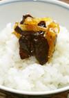 生姜と干し肉の即席佃煮