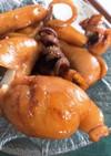 イカチチと甲イカの照り焼き