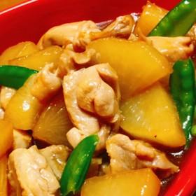 鶏肉と大根の煮物 *☻*