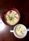 1歳児とミルクスープ