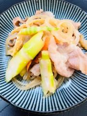 簡単たけのこと豚肉の炒め物☆の写真