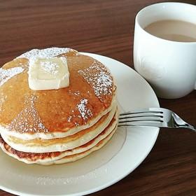 薄力粉で簡単パンケーキ