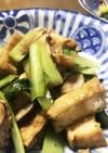 厚揚げと小松菜のオイスターソース炒め