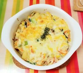 野菜たっぷり♥豆腐ソースグラタン