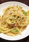 ツナとアボカドのスパゲティ
