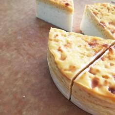 材料使い切り★カスタードチーズケーキ