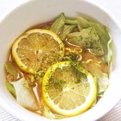 カップ麺でお手軽♪レモン味噌ラーメン