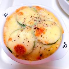 ズッキーニとポテトサラダのミルフィーユ
