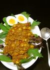 ひき肉とひよこ豆のスパイシーキーマカレー