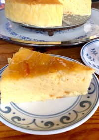 マーマレードチーズケーキ