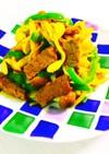 低糖質!牛肉と野菜のカレー炒め