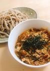 簡単!ピリ辛 肉蕎麦つけ麺