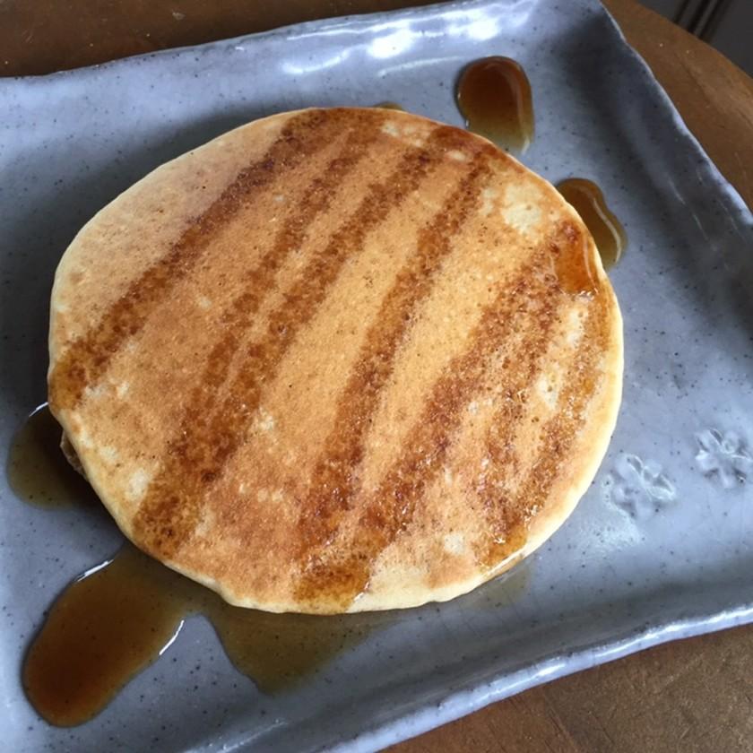 米粉or大麦粉で作るノンアレパンケーキ