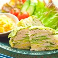 豚肉と白菜のミルフィーユ⁂おろしソースで