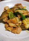 鶏肉と野菜のコチュカレー炒め♡